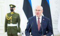 Estų prezidentas: turime būti pasirengę Baltarusijai taikyti naujus ribojimus