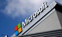 """Debesų kompiuterijos plėtra """"Microsoft"""" III ketvirtį leido auginti pajamas ir pelną"""