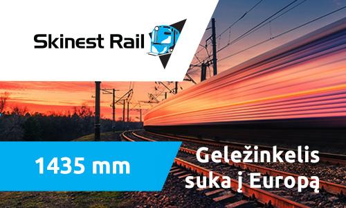 1435 mm | Geležinkelis suka į Europą