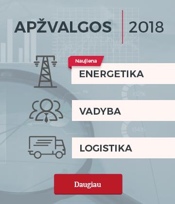 Sektorių apžvalgos 2018 m.